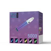 DAZLE 5000 BUFFS 14 Colori Sigarette R e M E M Dimensioni Penna Vai ricaricabile 10ml Pod cartucce dopo il servizio Assicurazione della qualità del servizio di vendita
