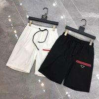 Pantalon courte pantalon décontracté pantalon imprimé lettre avec boucles lâches et shorts de hip-hop shorts d'été de qualité supérieure