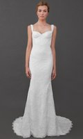 2017 Vintage Katie May Lace Wedding Dresses Spaghetti Strap Sexy Open Back Court Train Spring Summer Beach Garden Sienna Gown Bridal 2016 XP