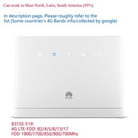 Разблокирован Huawei B315S-519 4G CPE LTE WiFi Mar Router Беспроводной Hotspot Mobile Modem