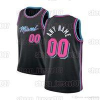 Custom Meyers 0 Leonard MiamiHitzeBasketball-Trikots Edelstatre 5 Achiuwa Kelly 9 Olynyk Max 31 Kendrick Basketball 22 Butler-Trikots