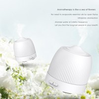Humidifiers 120ML Mini Ultrasonic Air Humidifier LED Lamp USB Essential Oil Diffuser Car Purifier Aroma Anion Mist Maker With Romantic Ligh