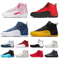 Zapatos Retro 12 aj 12s jumpman XII zapatillas de baloncesto DARK CONCOR Stone Blue BULLS REVERSE FLU GAME Golden FIBA hombres mujeres Trainers Sports Sneakers