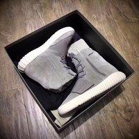 Black Samurai Velcro 750 Kanye Boots Hombres y mujeres Soul Coco Sneakers Zapatillas de Zapatillas conjuntas Zapatos de palomitas de maíz superior sin caja