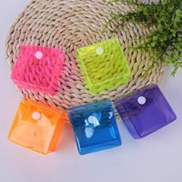 False Eyelashes 100pcs Candy Color Packaging Resealable Storage Bag Pouch Cosmetic Box For Wholesale