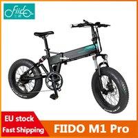 [EU Stock] Fiido M1 Pro Electric Bike 20 인치 12.8AH 48V 접이식 Moped 자전거 50km / h 최고 속도 130km 마일리지 범위
