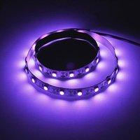 その他の照明電球チューブ50cm 5V LED UV消毒ライトランプSMD USBテープ滅菌装置UVCストリップDC MOSIDAL KILL DUST MITE ELIMI