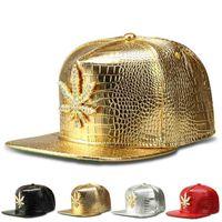 NOUVEL NOUVEAU ALLIAGEAU DE DROISSON DE BRÊT CORÉEN Diamant, feuille de chanvre, chapeau de baseball Chaozhou, chapeau de hip hop