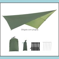 Tents Hiking Sports & Outdoorstents And Shelters Outdoor Tralight Awning Cam Tarp Tent Sun Shelter Garden Canopy Sunshade Hammock Beach Fish
