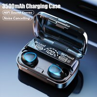 M10 TWS Bluetooth 5.1 Earphones 3500mAh Charging Box Wireless Headphone 9D Stereo Sports Waterproof Earbuds Headsets With Microphone