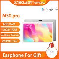 Teclast M30 Pro Android 10 Tablet PC 6GB RAM 128GB ROM 10.1 Inch IPS 1920x1200 4G Call Network Dual Wifi GPS Sensori Intellig