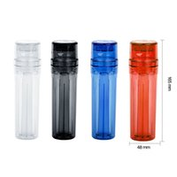 콘 아티스트 플라스틱 그라인더 흡연 도구 액세서리 롤링 기계 담배 제조기 필터 공구 장치 롤러 4 색 파이프