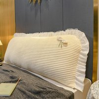 Подушка / декоративная подушка Rzcortinas кровать изголовье подушки подушки подушки декора дома принцесса мягкая бархатная прикроватная спинка съемные съемные подушки