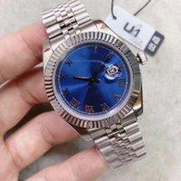 U1 ST9 luxury watch Blue Roman Dial 41mm 126333126334 Automatic Mechianical Wristwatches Jubilee Strap Sapphire 2813 126301 Datejust Movement Mens Watches