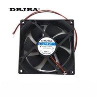 CABALLAS DE ENFRIAMIENTO PORTÁTIL COMENTARIO CABLE CASA DE CPU TD9025LS 12V 0.16A 90mm * 90mm * 25 mm Rodamiento hidráulico Ventilador tranquilo