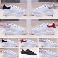 2021 Çocuk Ayakkabı Tüm Deri Düşük Üst Spor Kaykay Orijinaller MQ Sole Tampon Köpük Vakum Rahat Spor 26-35