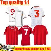 1977 빈티지 축구 유니폼 클래식 Ronaldo Rooney Saha Coppell 레트로 맨체스터 2007 2008 홈 멀리 남자 축구 셔츠 07 08 Nani Man Utd Camiseta
