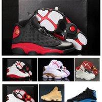 13S élevage il a eu un jeu Hyper Hyper Royal Chicago Histoire du vol Noir 13 Chaussures de Jumpman Designer Hommes Sneakers Bottes