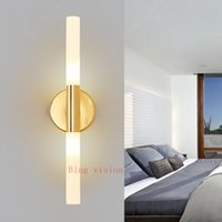 Wall Lamp Modern Metal Tube Pipe Up Down LED Light Sconce Bedroom Foyer Washroom Living Room Toilet Bathroom