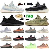 yeezy boost 350 v2 2021 Kanye Erkek Kadın Koşu Ayakkabıları Kül İnci Karbon Zebra Toprak Kum Taupe Bred Mavi Tente Bulut Beyaz Erkek Eğitmenler Sneakers