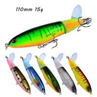 8 Kolor Mieszany 110mm 15g Haczyki wędkarskie 6 # Hook Hard Baits Przynęty Pesca Tackle Akcesoria WA_554