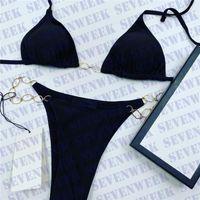 Summer Womens Costumi da bagno Bikini Biancheria intima a vita alta Elastic Donne Costume da bagno Sexy Sexy Signore Signore Signore Costume da bagno Abiti Regali
