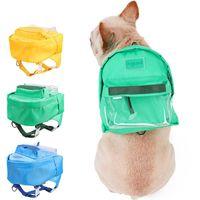 Haustier Tasche Hund Tragbare Faltbare Reise Outdoor Training Mode Katze Welpen Brustgurt Auto Sitzbezüge