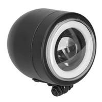 Автомобильные фары светодиодные лампы лампы фар для автомобилей Винтаж круглый передний лампа подходит для мотоциклов Cruiser Choppers