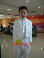 Baby Boy Tuxedo Boys Suits Formal Dress 4pcs Set Child Suit Children Blazers Clothing White Black 1 10 Year