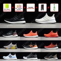 Ultra Boosts 4.0 5.0 Ультрабустные кроссовки белые черные преломления преломления Primeknit темные пиксельные мужчины женщины спортивные кроссовки кроссовки 36-45