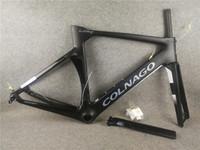 T1100 UD Matte Bleu Colnago Black Colnago Concept Disc Car Carbon Road Cadres Cadre de vélo de roue de chicycle 45/48 / 50 / 52/54 / 56cm