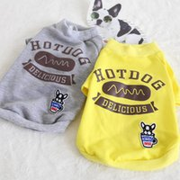 Dog Apparel Waistcoat Thick Hoodies Coats Shirt Cotton Pet Clothes Winter Warm Clothing For Dogs Cat Puppy Maltese Teddy