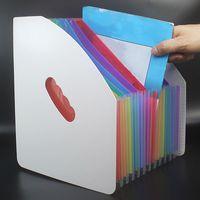 A4 Dateiordner Portable Business File Organizer Umschläge Umschläge Schreibtischlagerungspapier Geschenke Erweitern Office Quittung Dokument Organizer