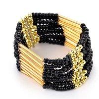 Bracelet bracelet pour femmes hommes Mode bijoux Daisies Murano GlassCrystal Charm Bracelets Européen Fits Charme Bracelets Perles 29 J2