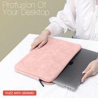 Caja de manga para portátil para HP Dell Notebook Bolsa Llevar bolsas de moda MacBook Air Pro 13.3 Paquete a prueba de golpes En forma Hombres Mujeres en venta Sólido Unisex Cremallera Multicolor