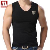 Débardeurs pour hommes Coton Wolf Sans manches Sans chemises pour hommes Bodybuilding Direwolf blanc occasionnel Vest d'été M-XXXL 210623