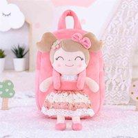 Gloveleya Plush Backpack girls toddler for girl Spring Pink Toy cute 210331