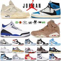 Tech White Oreo 4 4s Zapatillas de baloncesto para hombre University Blue Hyper Mocha Jumpman 1 1s Zapatillas Black Cat 6 6s UNC Gold Hoops  Racer 11 11s para mujer