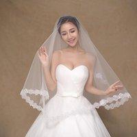 Bridal Veils 2021 Arrival 1.5m Wedding Veil Accessories White Velos De Novia Headwear