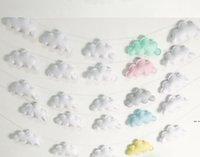 Bulutlar Asılı Damla Kolye Dekor Bebek Odası Dekorasyon Nordic Duvar Asılı Süsleme Fotoğraf Sahne Ev Odası Süsleme HWC7004