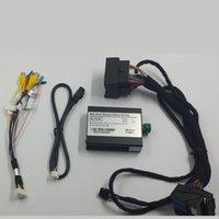 Araba Dikiz Kameralar Park Sensörleri Comand Online Ses 20 NTG4.5 A / B / C / E / CL için Ön Ters Kamera Arabirimi Adaptörü içerir