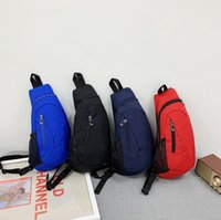 Unisex Chest Bags Men Nylon Sling Backpack Casual Fanny Pack Multi-function Girls Sports Crossbody Handbags Woman Phone Wallet