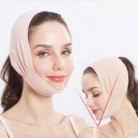 Autres objets de massage Massager Double menton Double Visage Bandage V Ligne Shaper Femmes Chek Souchez sur ceinture Courroie Bande faciale Soins