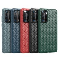 لهواوي P40 Pro Plus Mate Mate 30 Pro P30 P20 V30 Pro Soft TPU Weave Phone Case iPhone 12 XS Max XR 6 7 Plus 11 Apple 10 Ultrathin Back Cove