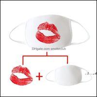 Designer Housekeeping Organization Home & Gardensublimation Blanks Customize Valentines Gift Mask Face Masks Adult White Sublimation Permeab