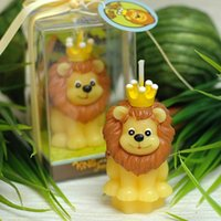 Lion King Atmosphäre Kerzen Handbuch Handgemalte Kerzen Kinder Geburtstagsfeier Kerzen Kreative Handwerk Konstellation