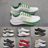 Zoom Pegasus 37 turbo Мужские кроссовки обувь классические мужчины и женщины бегун спортивный тренер подушка поверхность дышащих спортивных площадок 36-45