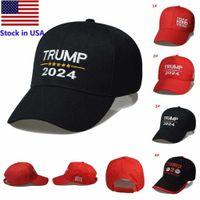 16 Styles Trump 2024 Baseball Hat Embroidery Donald Trump Keep America Great Cap America President Trump Camouflage Sunscreen Hat