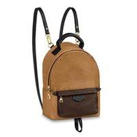Высококачественные дизайнеры PU кожаные сумки на ремне мини по размеру женщин рюкзак роскошные детские школьные сумки пружины леди путешествия сумки сумки M41562