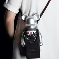 The New style 400% 28CM Bearbrick The ABS Leica Fashion bear Chiaki figures Toy For Collectors Be@rbrick Art Work model decoration toys gift